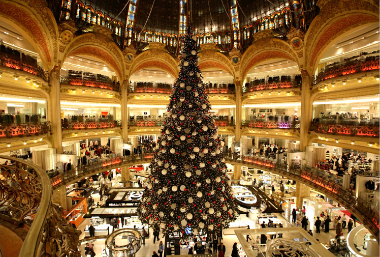 Your most wonderful christmas will be in paris!